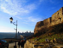 Armenische Bastion und alte Festung, Kamenets Podolskiy, Ukraine Lizenzfreie Stockbilder