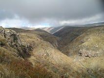 Armenische Berge Stockbild