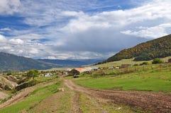 Armenische Dorflandschaft Lizenzfreies Stockfoto