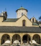 Armenische Kathedrale in Lemberg, Ukraine Stock Abbildung