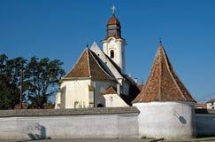 Armenische katholische Kirche in Gheorgheni, Rumänien Stockbilder