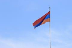 Armenische Markierungsfahne Lizenzfreie Stockbilder