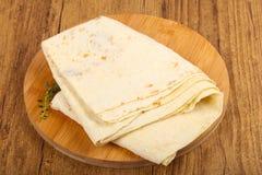 Armenisches Brot - lavash Lizenzfreies Stockbild