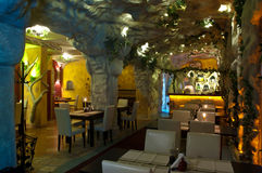 Armenisches Restaurant Stockbild