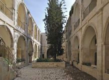 Armenisches Viertel in Jerusalem Stockbilder