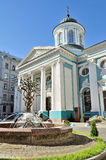 Armenisk apostolisk ortodox kyrka av St Catherine i St Petersburg, Ryssland Arkivfoton