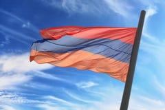 armenisk flagga Royaltyfria Foton