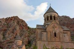 Armeniska forntida kyrkliga Noravank Royaltyfri Bild