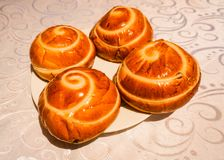 Armeniska traditionella Gata Desert Cuisine royaltyfri bild