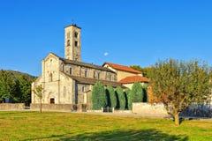 The Armeno church, Piedmont royalty free stock image