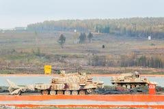Armerade flyttningar för deminer BMR-3M Ryssland Royaltyfri Foto