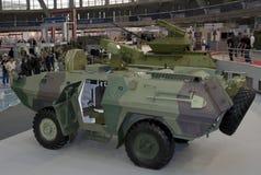 Armerade militärfordon Royaltyfri Bild