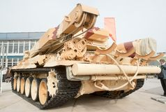 Armerat återställningsmedel BREM-1M Royaltyfri Foto