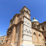 armerina piazza piękny katedralny Zdjęcie Royalty Free