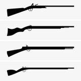 Armes à feu de vintage Images libres de droits