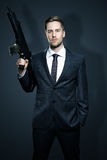 Armes d'un homme d'affaires Photos stock