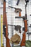 Armes de petit calibre de la deuxième guerre mondiale Images libres de droits