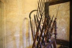 Armes des Moyens Âges Photographie stock libre de droits