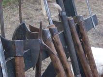 Armes médiévales Photo libre de droits