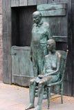Armes Paar-FLUGLEITANLAGE Roosevelt Denkmal - Washington DC Lizenzfreies Stockfoto
