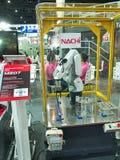 Armez la machine de robot dans Metalex 2014, la fierté d'ASEAN, Thaïlande Images stock