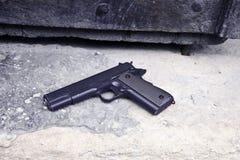 Armi da fuoco come un puledro o pistola Makarov Immagini Stock