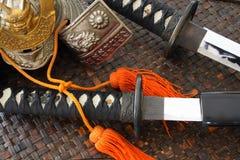 Armi del samurai Immagini Stock