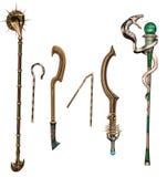 Armi e personale antichi di fantasia royalty illustrazione gratis