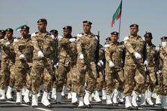 armia Kuwait show Zdjęcia Royalty Free