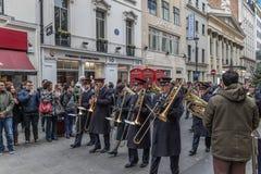Armia Zbawienia dnia Wielkanocna parada Obraz Stock