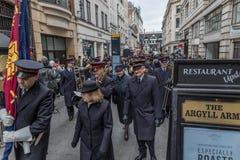 Armia Zbawienia dnia Wielkanocna parada Fotografia Royalty Free