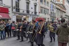 Armia Zbawienia dnia Wielkanocna parada Obrazy Stock