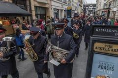 Armia Zbawienia dnia Wielkanocna parada Obraz Royalty Free