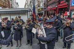 Armia Zbawienia dnia Wielkanocna parada Zdjęcie Stock