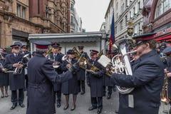 Armia Zbawienia dnia Wielkanocna parada Zdjęcia Stock