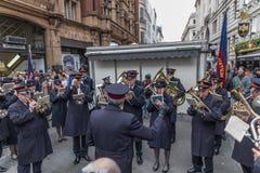 Armia Zbawienia dnia Wielkanocna parada Zdjęcia Royalty Free
