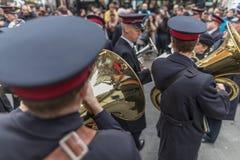 Armia Zbawienia dnia Wielkanocna parada Obrazy Royalty Free