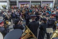 Armia Zbawienia dnia Wielkanocna parada Fotografia Stock