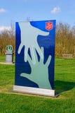 Armia Zbawienia pomnik przy narodu Pamiątkowym arboretum, Alrewas Zdjęcia Stock