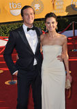 Armie Hammer, Elizabeth Chambers Stock Photography