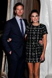 Armie Hammer and Elizabeth Chambers Stock Images