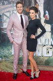 Armie Hammer and Elizabeth Chambers Stock Image