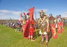 Armies through the Centuries. Royalty Free Stock Image