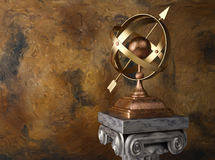 Armillary sphere Royalty Free Stock Photo