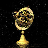 Armillary sphere Stock Image