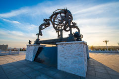 Armillary sphere outdoor photo Stock Image