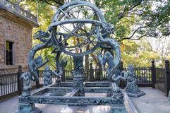 The armillary sphere Stock Image