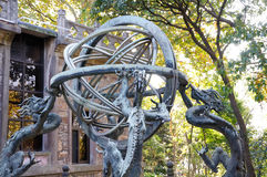 The armillary sphere stock photos