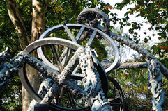The armillary sphere stock photo