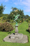 Armillary sundial, kitchen garden at Kellie Castle Stock Images